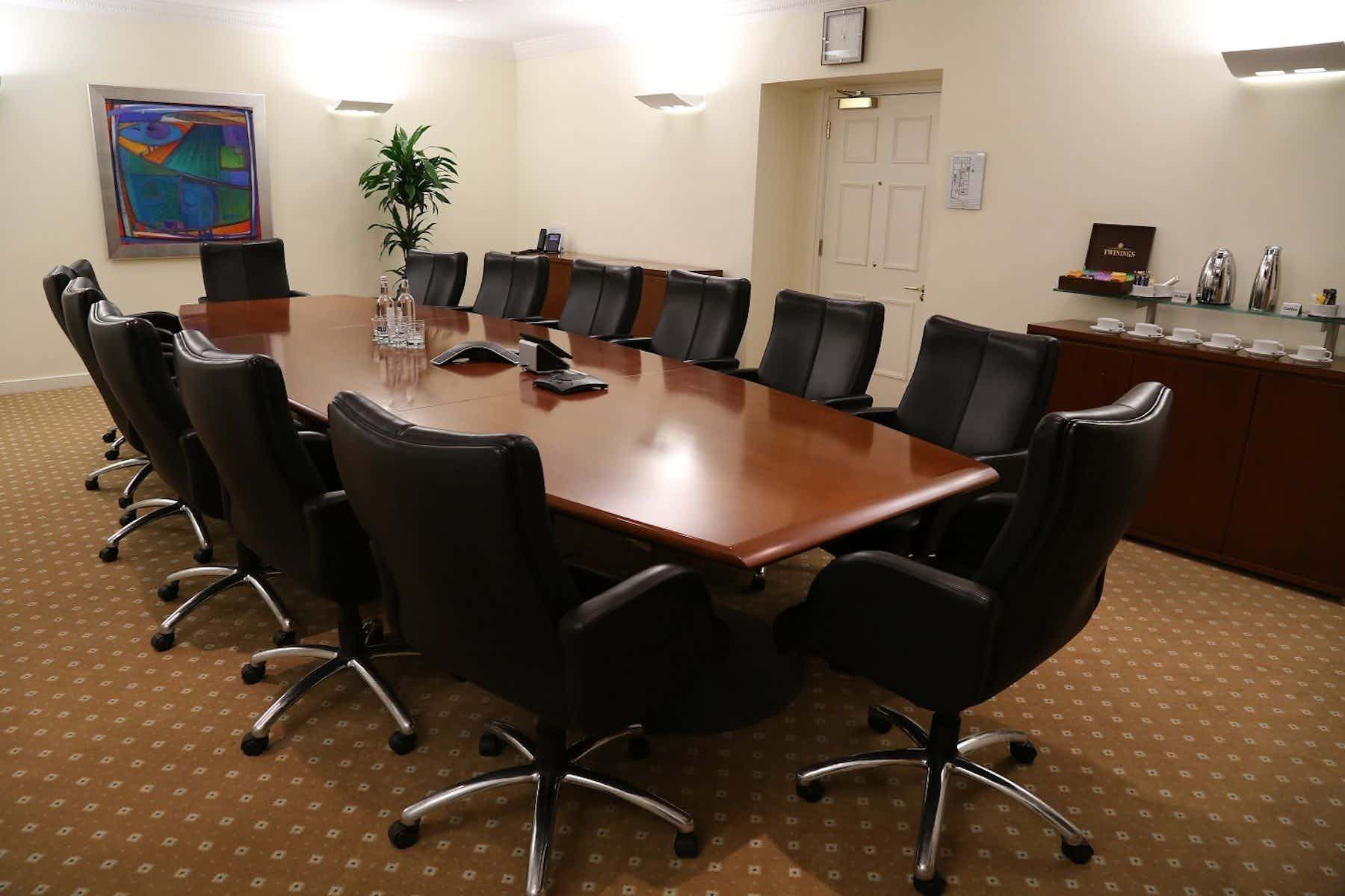 Boardroom, The Argyll Club, 78 Pall Mall