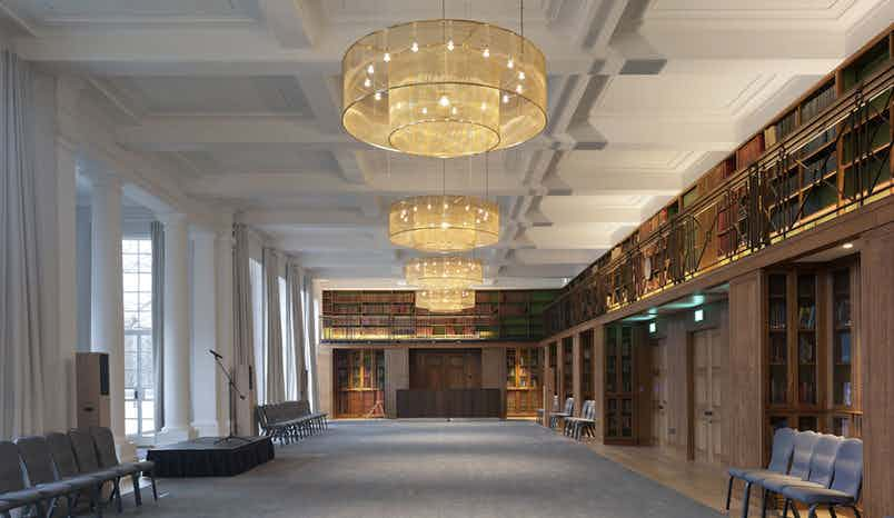 Maxwell Library, IET London: Savoy Place