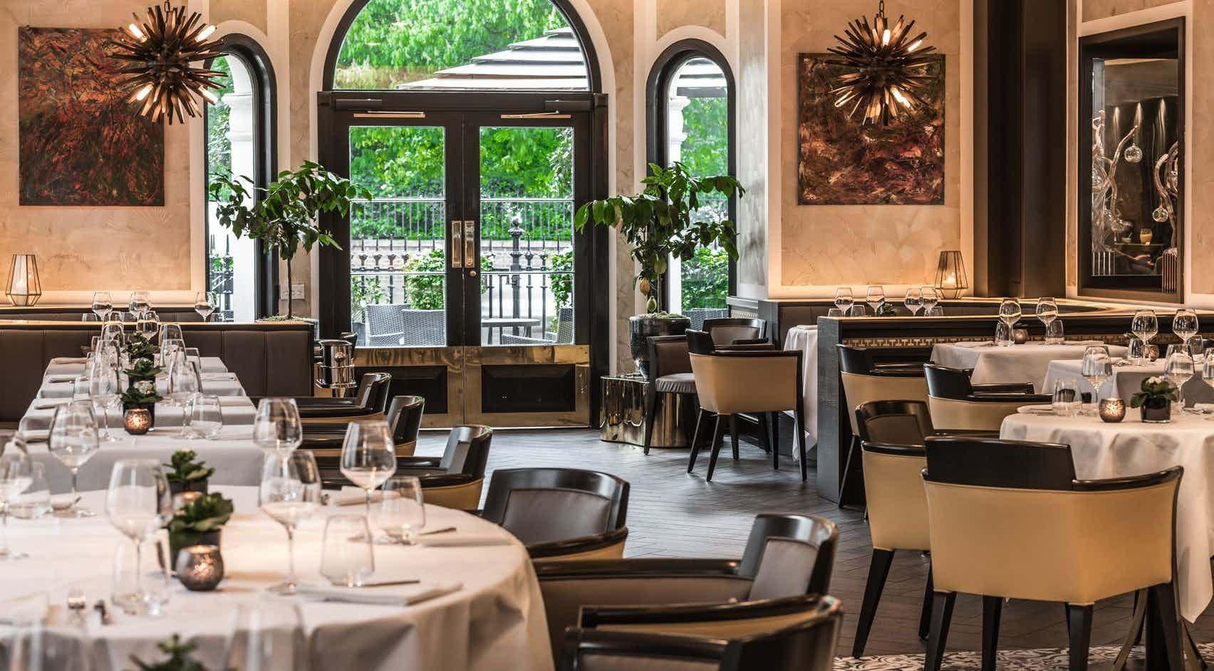 Brunello Bar and Restaurant, Baglioni Hotel London