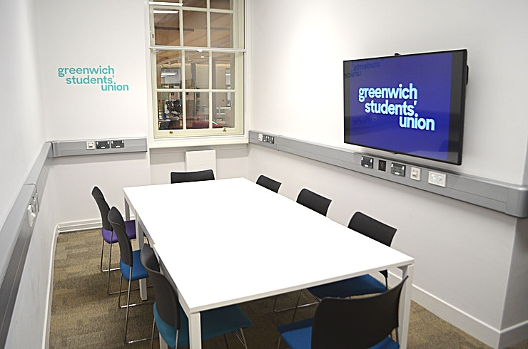 Small Meeting Rooms **Situated within the Dreadnought Building, Greenwich Students' Union can offer a variety of rooms to suit your needs.** 
