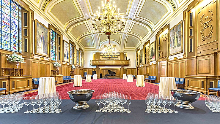 Meetings and Conference Rooms **Clothworkers' Hall is a magnificent venue to hire in London which boasts layers of historical richness and an unrivalled sense of occasion. Ideal for any conference, meeting or private party.**  F