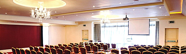 Ballroom 1 **Ballroom 1 at The Bristol Hotel is a state-of-the-art venue hire in Bristol for networking events, seminars and conferences.**  The Meetings & Events Centre at The Bristol hotel is one of the South West's leading business facilities.  Located adjacent to the hotel, it has a separate entrance and its own lobby/lounge area and private bar.  All the hotel's nine meeting rooms offer smart décor and the latest technology including flat screen TVs and integral projectors.  Further benefits include complimentary WiFi, on-site parking and the support of our highly experienced events team, who are on hand to ensure that doing business at The Bristol hotel is always a pleasure.