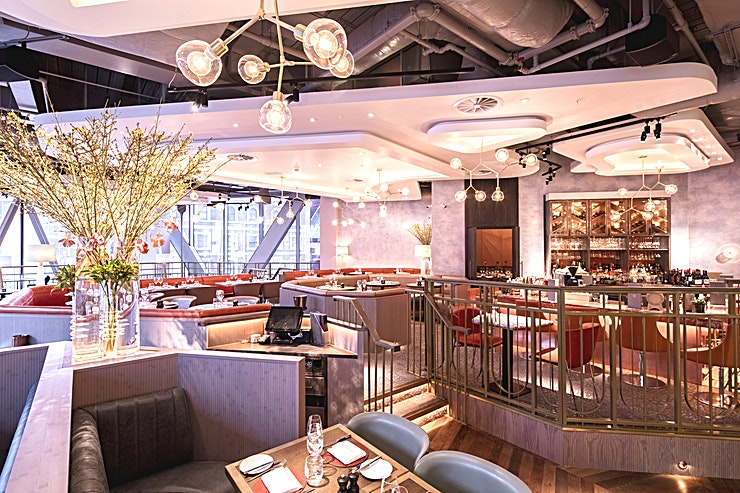 First Floor **The First Floor at Aster is a flexible private dining venue to hire.** in London  This Space is situated within a Westminster favourite, only a short walk from Victoria train and tube station, adj