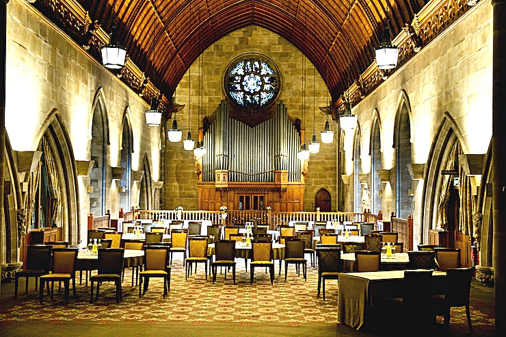 Harry Clarke Suite **This magnificent converted chapel is one of the most unique and impressive wedding venues to hire in Sussex.**