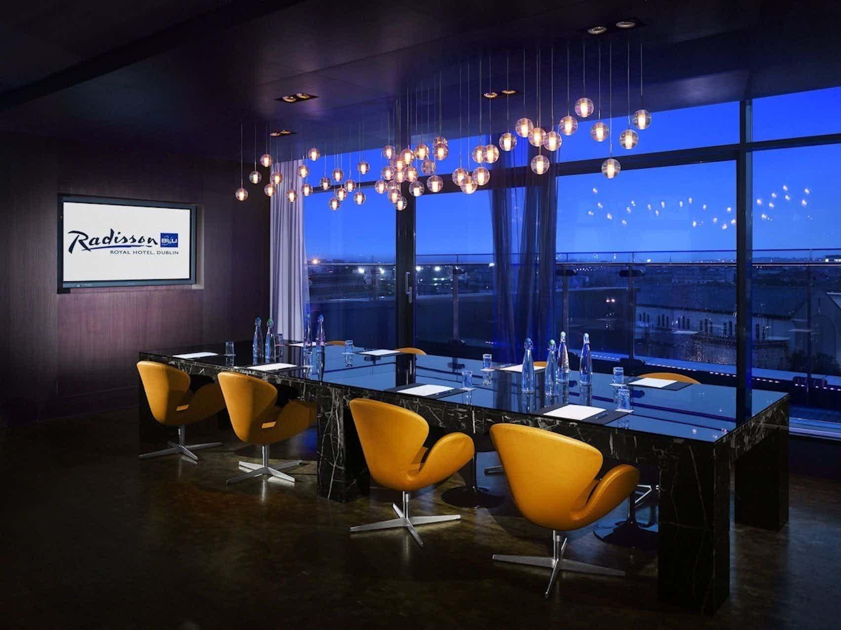 Sky Suite, The Radisson Blu Royal Hotel