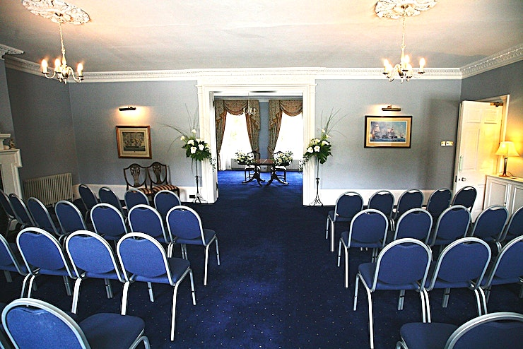 Sunne Room **The Sunne Room at The Commissioner's House is an ideal venue to hire in Chatham.**
