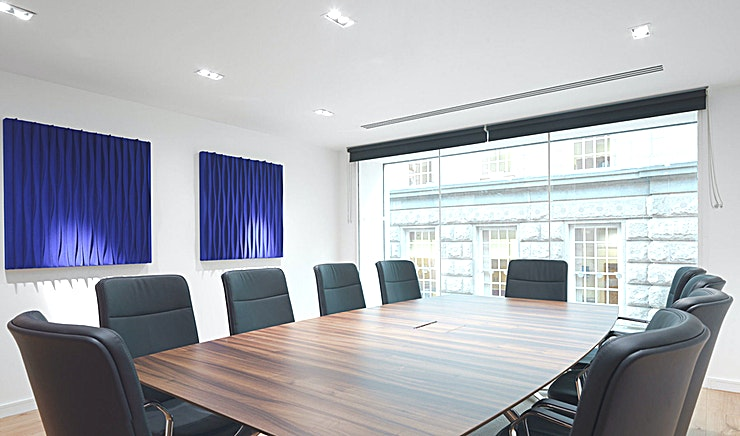 Boardroom 2 **Boardroom 2 at Us&Co is a state-of-the-art meeting room for hire in Dublin.**