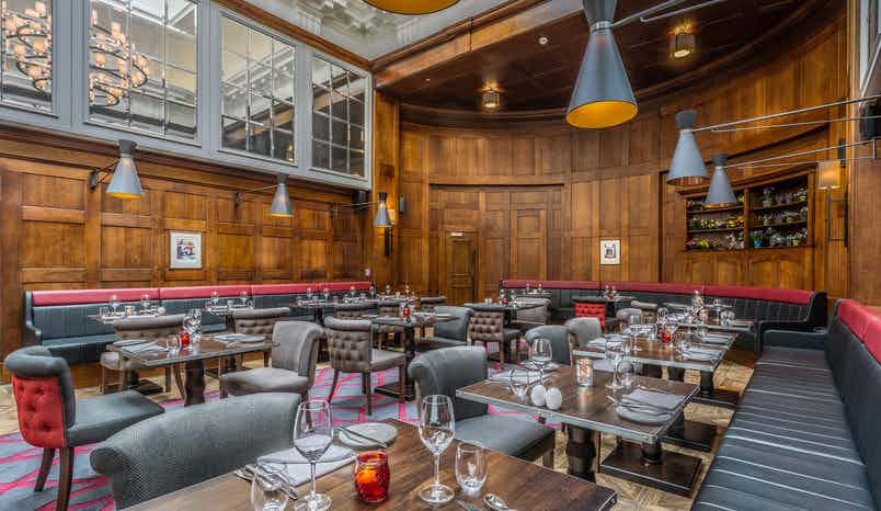 Judge & Jury Restaurant, The Courthouse Hotel Shoreditch