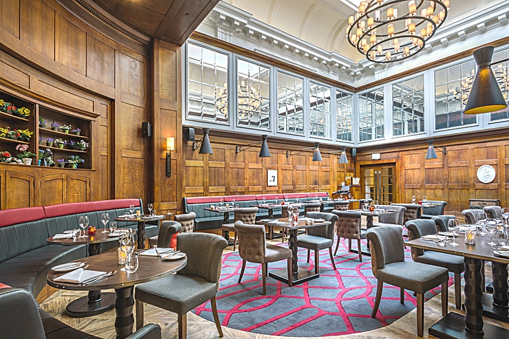 Judge & Jury Restaurant **Hire the Judge & Jury Restaurant at The Courthouse Hotel Shoreditch for one of the top London restaurants to hire for your next private event!**   The Judge & Jury Restaurant is set in in the orig