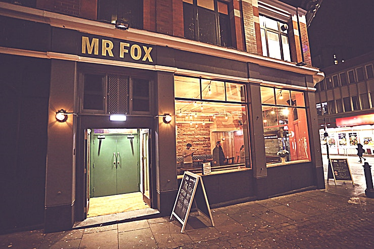 Whole Venue **The whole venue at Mr Fox is available to hire for an ideal private party location in Croydon.**