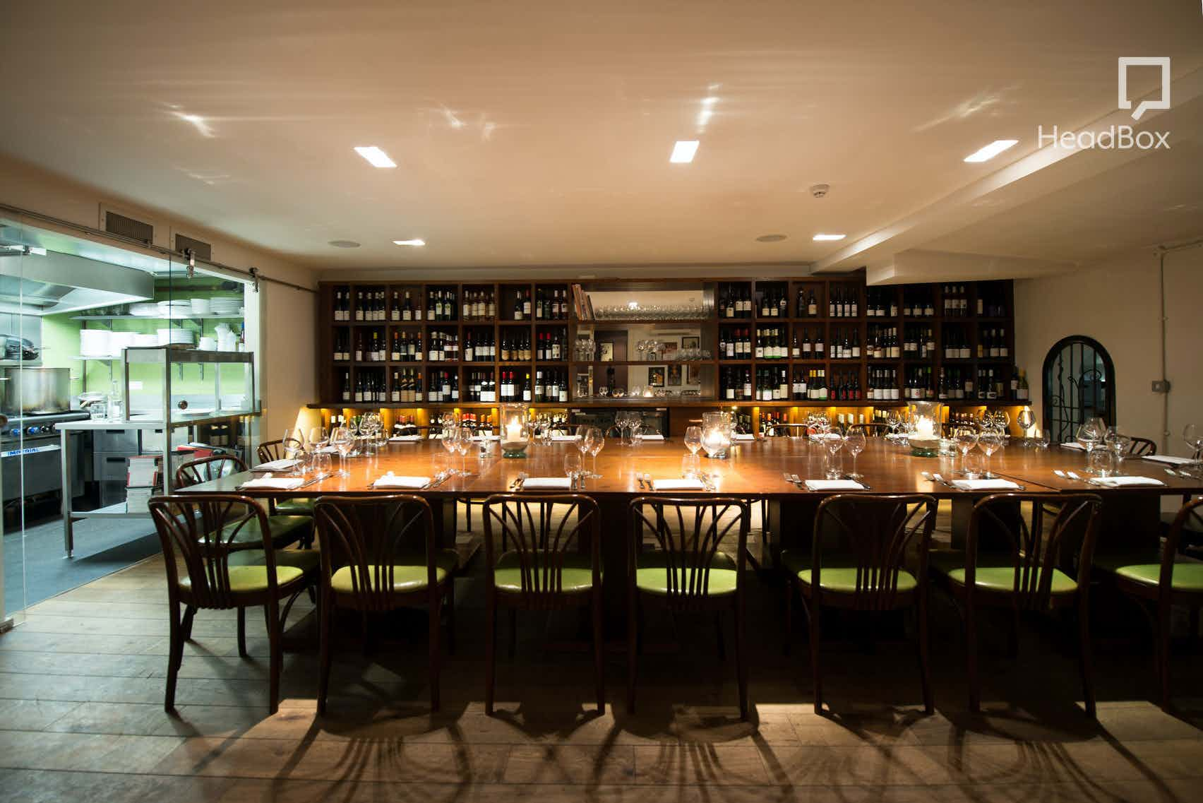 Private Dining Room, Vinoteca Marylebone