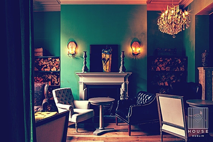 The Parlour **The Parlour at House Dublin is an event venue available to hire for meetings, private parties and dinners.**  With Georgian views of authentic Leeson Street, whether it be a morning coffee or a signature cocktail, grab a seat by the fireplace and relax.   House Dublin is a hidden utopia in the centre of Dublin. Inspired interiors, paired with the tranquil alfresco setting of the garden provides a fabulous backdrop to your event.  Every event at House Dublin is planned to inspire. Let this venue take you from morning to evening, with versatile bar Spaces beautifully designed to host all occasions.   From breakfast meetings to private dining to cocktail parties & showers, House is the ideal destination for corporate events and social celebrations.   The dining and canape menus have been carefully crafted by a talented culinary team, and expert bartenders are on hand to design the perfect drinks for your party.   With attention to every detail and a personal touch, a warm Dublin welcome is always awaiting from a passionate events team.
