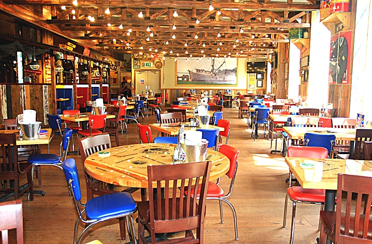 The Beaufort Room **The Beaufort Room at Bubba Gump Shrimp is ideal for private functions in Westminster.**