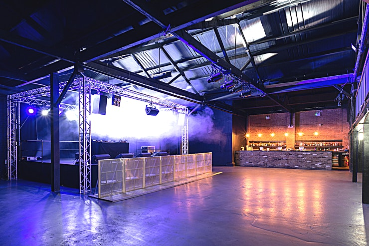 The Warehouse  **The Warehouse at The Mill is a large, versatile events Space to hire in Birmingham, ideal for private parties, product launches and corporate events.**