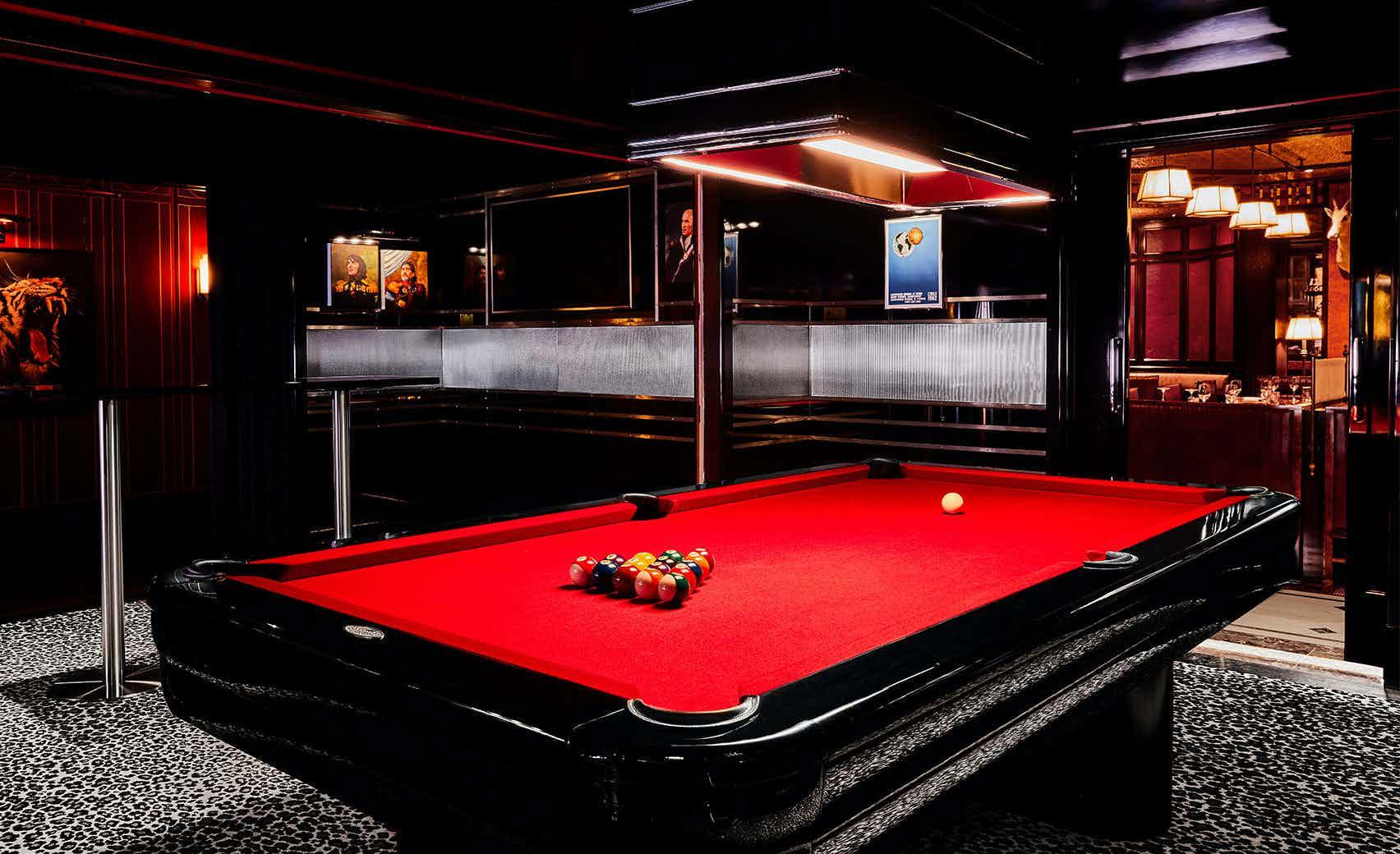 The Pool Room, Brigadiers