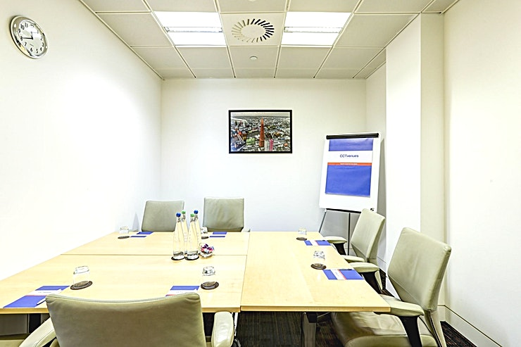Select A **Select A at CCT Venues Plus-Bank Street is an ideal boardroom available to hire in Canary Wharf.**  Just a minute's walk from Canary Wharf tube station, this stunning venue at 40 Bank Street offers events space that makes an impact for all the right reasons.   On the upper floors of this pristine 32-storey office complex, we have 26 flexible meeting rooms with floor-to-ceiling windows that boast breath-taking views across London.