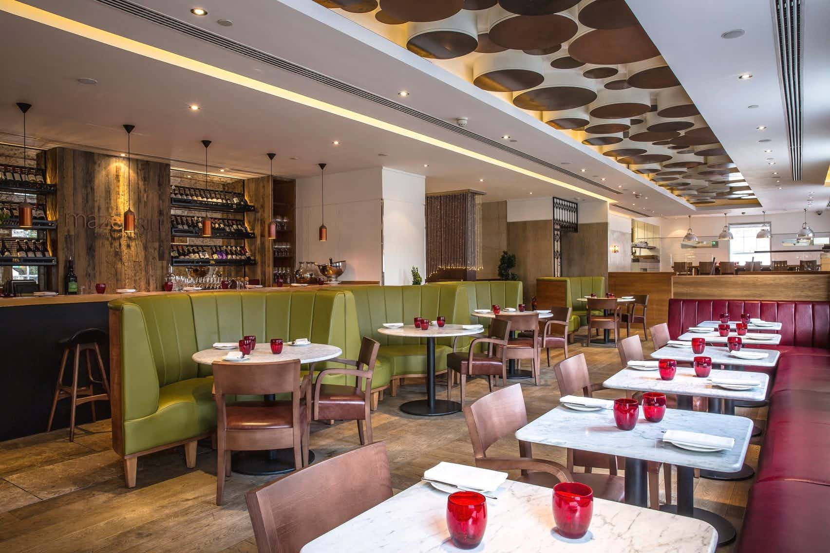 Maze Grill - A private Dining Room for Hire in Mayfair