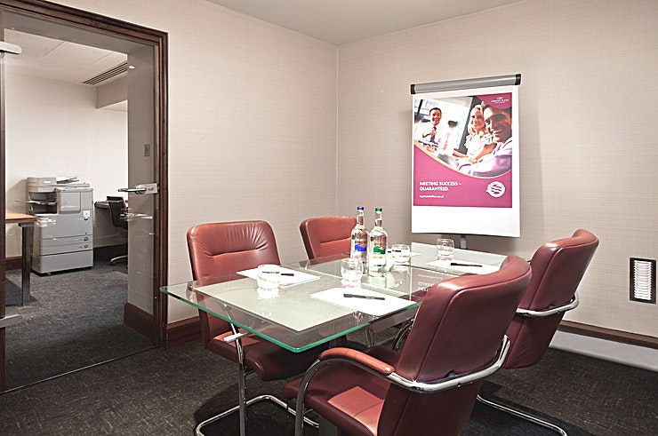 Ludgate Boardroom **Ludgate Boardroom at Crowne Plaza London is an ideal venue to hire for corporate events.**   For smaller meetings, the Ludgate Boardroom is perfectly sized while the meeting floor also features a spacious breakout foyer for your coffee and lunch breaks.