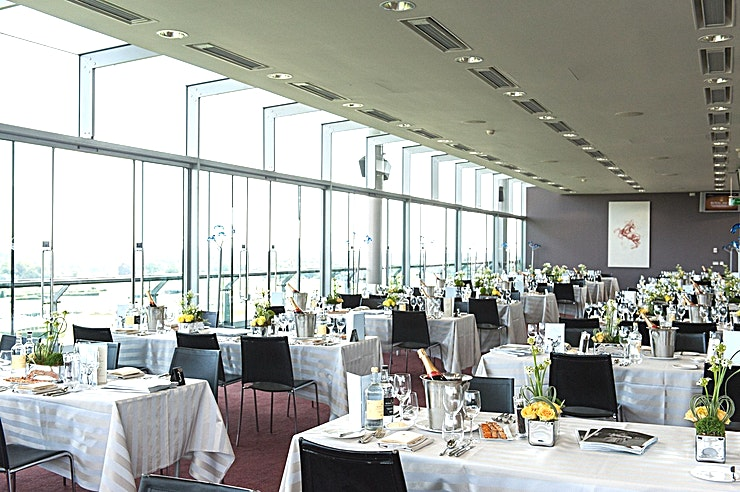 Panoramic Suite **For a private dining venue hire in spectacular surroundings, choose the Panoramic Suite at Ascot Racecourse.**