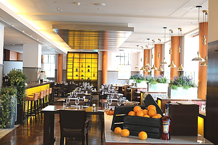 Diciannove **Diciannove at Crowne Plaza London is a stylish restaurant Space for hire in London.**  At Diciannove Italian Restaurant, we bring the soul of Italian flavours to the fore in everything we do, from our daily made fresh pastas and bread to the finest selection of Italian wines; we use the freshest, seasonal ingredients, regionally sourced.  Our passion is to serve instinctively Italian food and the finest of Italian wines have been carefully selected to complement each dish.  For a stylish, vibrant event with an authentic Italian theme, our restaurant is available for exclusive hire for up to 80 seated and 90 standing guests and menus from only £30 per person.