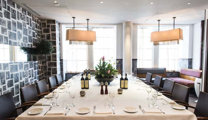 Diciannove Gallery Private Dining, Crowne Plaza London - The City