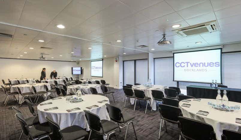 Sugar 1 & 2, CCT Venues-Docklands (Canary Wharf)