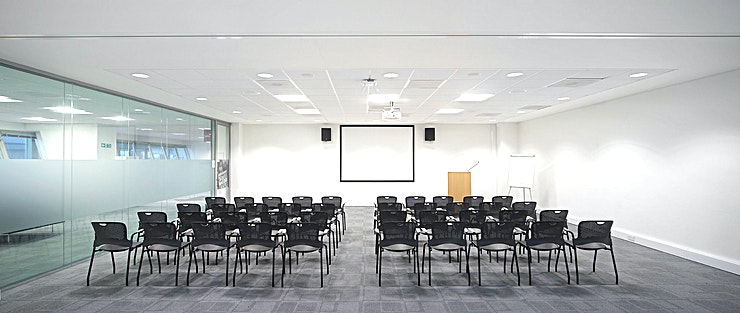 Talks Room **The Talks Room at The National Archives is an ideal event venue hire in Richmond.**  A fresh and contemporary room with plenty of natural light, well suited for talks, boardroom meetings, seminars