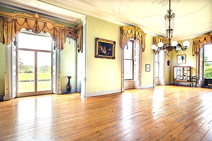 The Drawing Room **The Drawing Room at Temple House Estate is a stunning Space to hire for corporate events and drinks receptions in Co Sligo.**