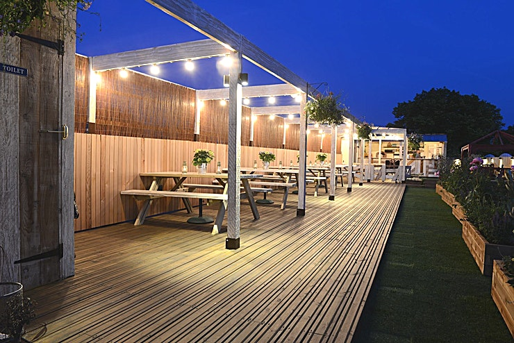 Roof Top **Hire your very own private roof terrace at this Chiswick members club!**