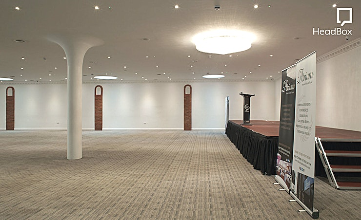 The Main Hall **Hire The Main Hall at The Atrium, a spectacular Shoreditch conference venue for premier events in London's most vibrant location.**