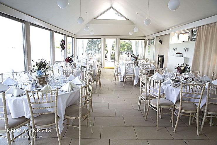 Whole Venue Hire **Why not hire out the whole venue at the Inish Beg Estate? This includes 10 rental properties accommodating up to 48 Guests.**  Inish Beg Estate is a unique venue offering couples and parties the opportunity to create a truly bespoke event that suits their own style and budget.   Located in a stunning, totally private and tranquil setting, Killeen Field's Marquee is located just 1.25 hours from Cork airport on an island estate reached by bridge off the Skibbereen to Baltimore road in beautiful West Cork.   The 97-acre organic estate comprises 47 acres of woodlands and organic farmland, a walled garden and landscaped gardens, beautiful shoreline walks and more.