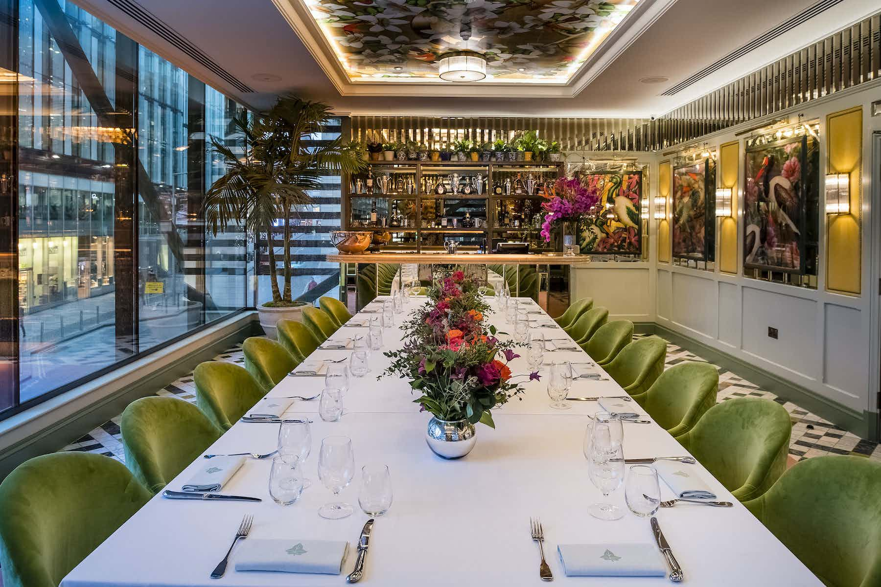 The Dalton Room, The Ivy Spinningfields