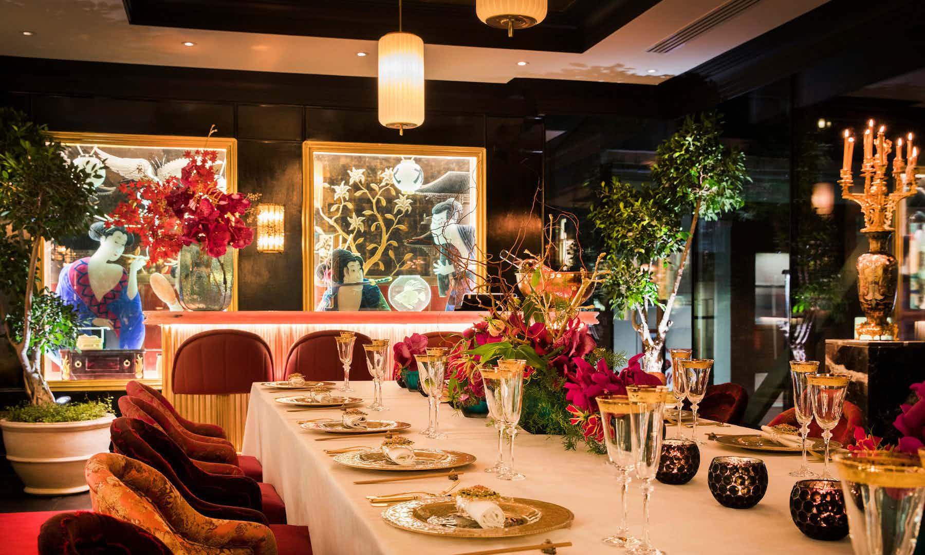 The Geisha Room, The Ivy Spinningfields