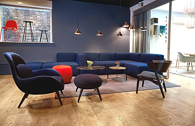 The Library **The Library at Space and Icons is a small meeting room perfect for groups of 2-5 people.**