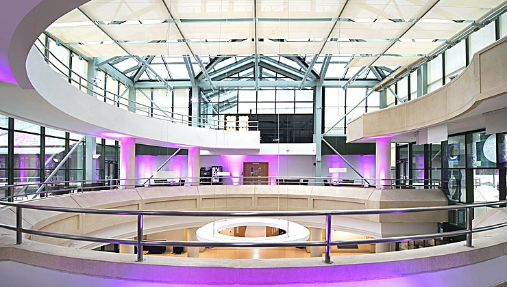 Balconies **If you're looking for a stunning summer party venue hire in south London, visit the National Archives in Richmond.**  Overlooking the leafy gardens of The National Archives, the balconies are the
