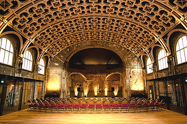 The Grand Hall **Battersea Arts Centre's Grand Hall is a stunning Battersea venue to hire for large events.** 