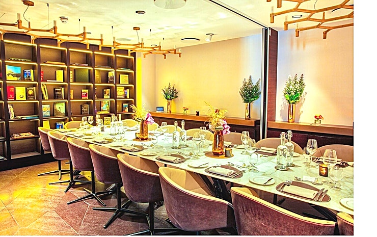 Library Rooms **The Library Rooms at 12 Hay Hill are stylish private function rooms to hire in Mayfair.**  From business breakfasts to stunning private dining, 12 Hay Hill's Library rooms provide the perfect Spac