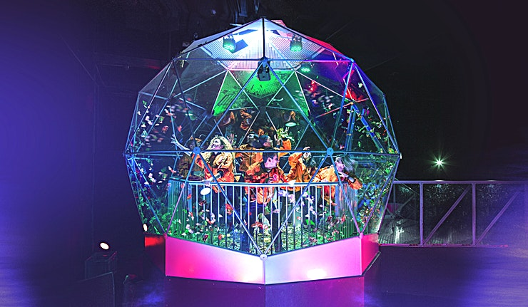 The Crystal Maze **For a unique team away day or private party experience in London, visit The Crystal Maze.**