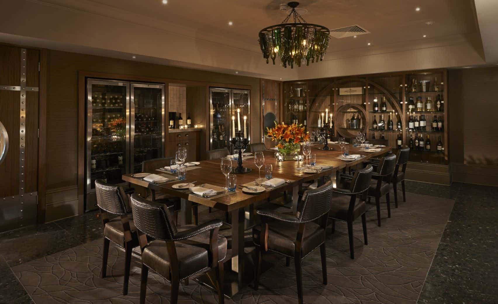 The Wine Room, The Belfry Hotel & Resort