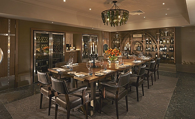 The Wine Room **The Wine Room at The Belfry Hotel & Resort is a stylish restaurant Space to hire in Birmingham.**