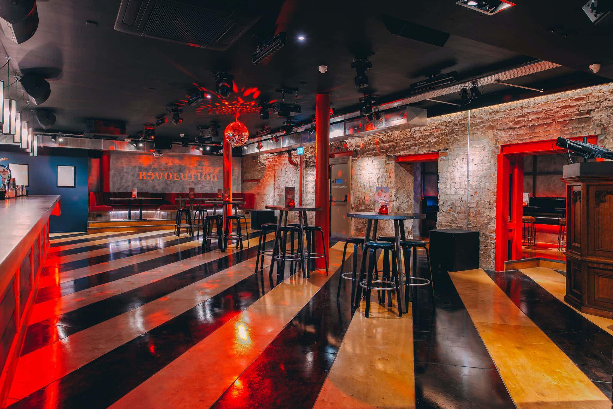 The Skye Bar & Print Room, Revolution Mitchell Street