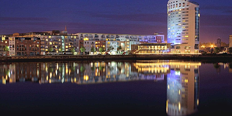 Waterfront Restaurant **The Waterfront Restaurant at Clayton Hotel Limerick is a popular dining Space to hire in Limerick.**  A heated and lit balcony follows the curve of the restaurant for summer dining al fresco. Waterfront Restaurant, in the heart of the city, exudes a vibrant atmosphere with an exciting menu, ideal for private dining occasions.  All of the ingredients used are locally and sustainably sourced with a carefully considered seasonal menu that is ever changing with highlights including fresh, west coast seafood and our steaks fully traceable from local farms.
