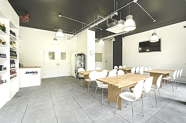 Kitchen Hire Hire the fully equipped modern Kitchen at Jenius Social for your next event.