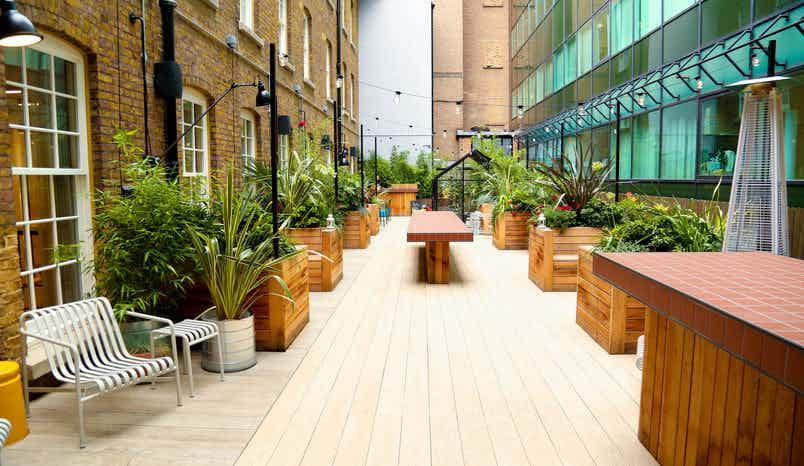 Lounge & Terrace, Wimpole, TOG Event Spaces