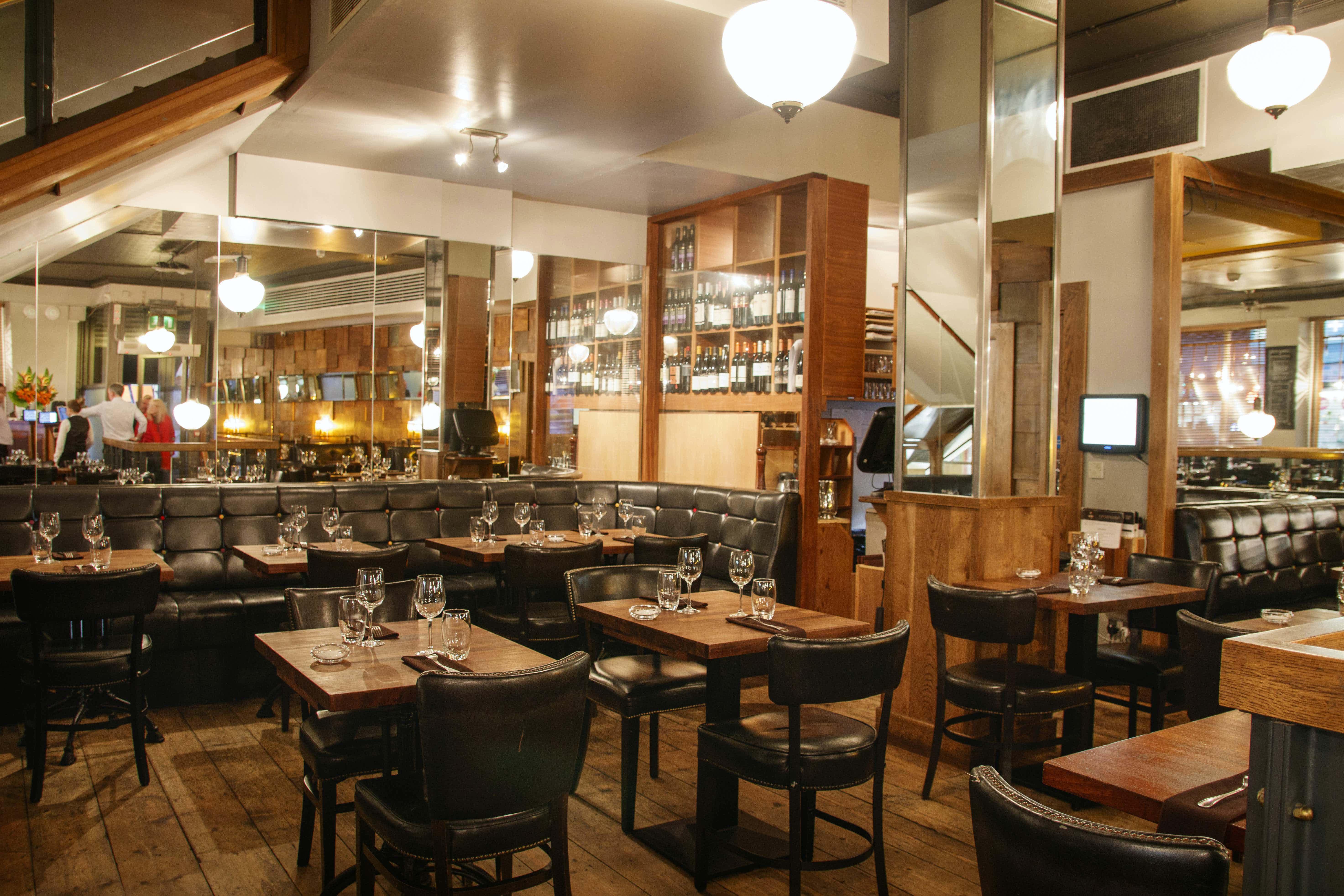 Ground Floor Restaurant, Rustic Stone by Dylan McGrath