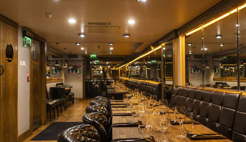 Lower Ground Floor Restaurant, Rustic Stone by Dylan McGrath