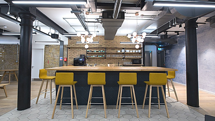 Whole Venue **Notcutt House is a unique event Space in Tower Bridge, ideal for team away days and workshops.**