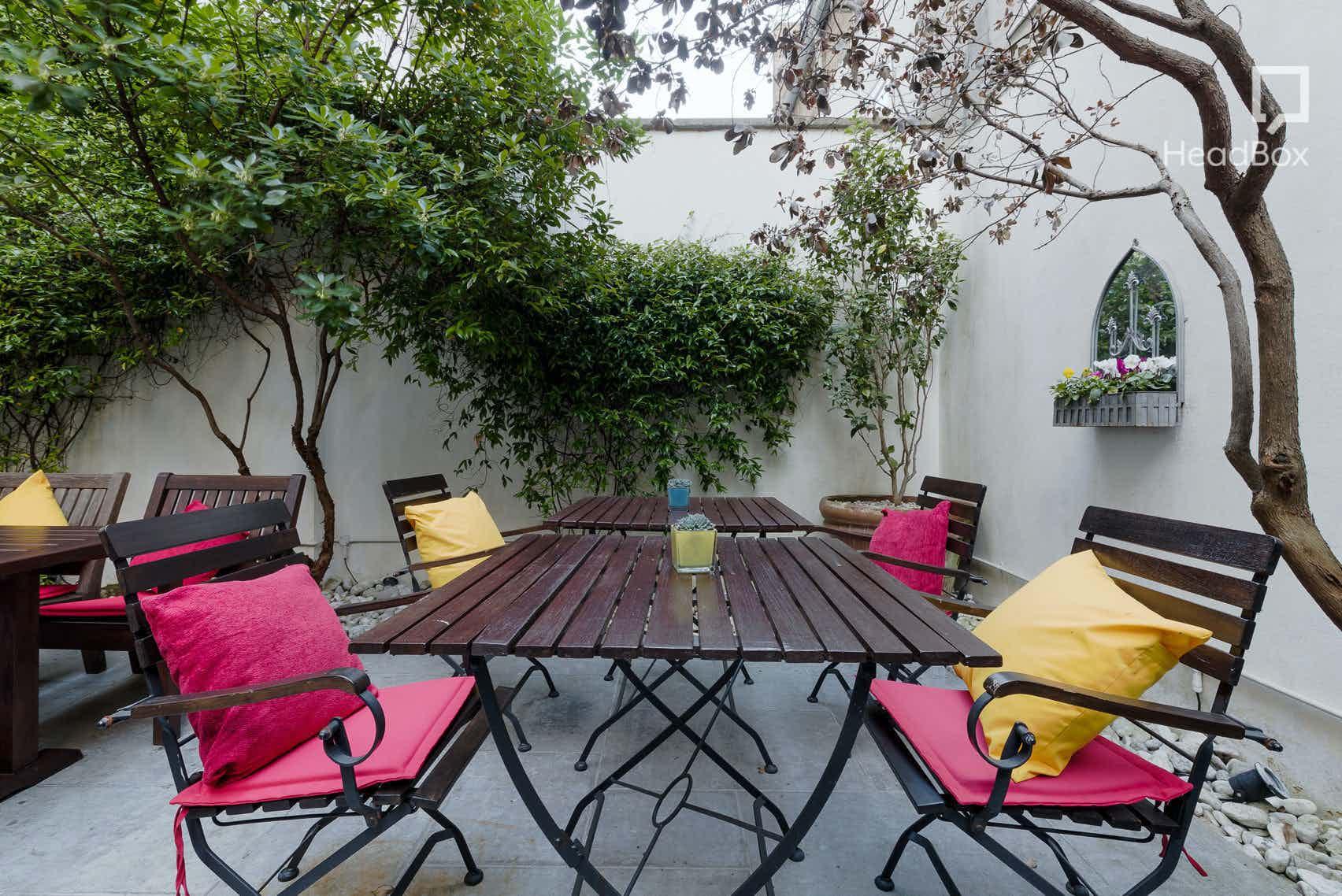 Garden Terrace, The Royal Park Hotel