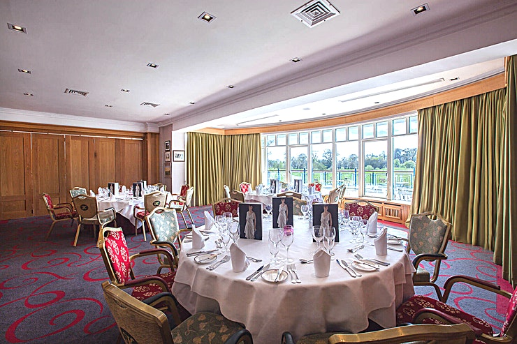 Lakeview Room **The Lakeview Room at The K Club is a stylish events Space to hire in Kildare.**  The Clubhouse Member's Room is situated in the Palmer Clubhouse and is just off Legend's Bar. It is a private room and is ideal for a small meeting.  The room has several windows and enjoys natural day light and stunning vistas across The Ryder Cup Course.  The K Club Hotel & Resort in Kildare is Ireland's first ever AA 5 Red Star Hotel. This luxury resort hotel is located only 30 minutes from Dublin in the beautiful County of Kildare where the River Liffey meanders through the soft green countryside.  The luxurious 5 Star K Club Hotel is a long-standing member of Preferred Hotels & Resorts who recommends the best hotels in Ireland, Europe and around the world while The K Club has pioneered 5-star service in Ireland from the very moment we opened our hotel doors in 1991.  Steeped in history, the 5 Star K Club hotel and resort combine old-world elegance with indulgent luxury so their Guests are treated to luxurious rooms and incredible dining experiences.   Guests can also opt to unwind in our oasis of calm at the internationally acclaimed K Spa or experience playing golf on a Ryder Cup course.   Over the past 25 years, we've firmly established our resort as the ultimate country escape for discerning guests and their families.  The K Club looks forward to welcoming you and yours, to help you share a moment in time that you'll never forget.