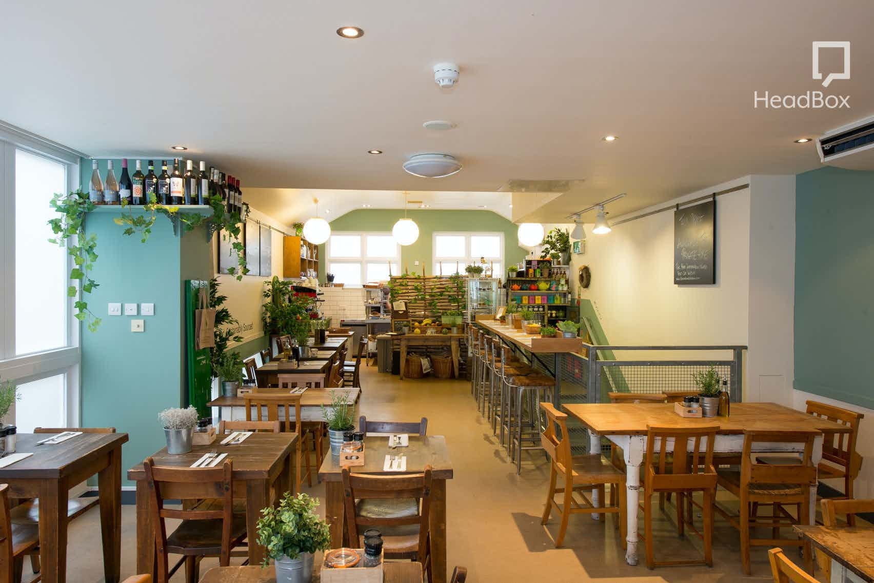 Upstairs Room, The Natural Kitchen Marylebone